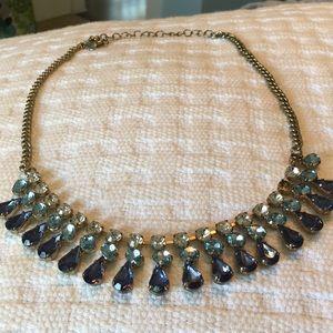 J. Crew Jewelry - Blue gradient statement necklace